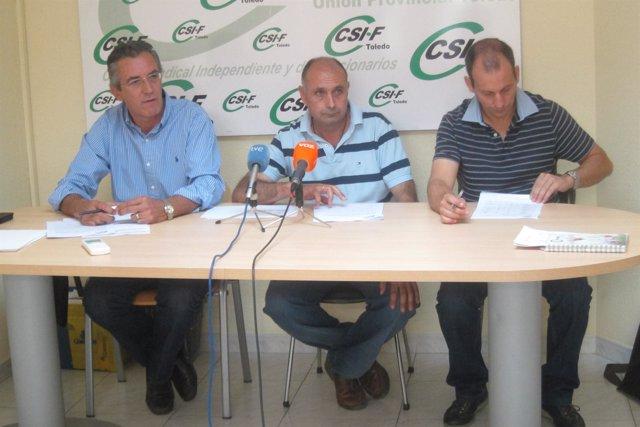 El Sindicato CSI.F En Rueda De Prensa