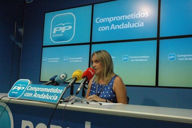 La portavoz de Educación del PP en el Parlamento Andaluz, Marifrán Carazo
