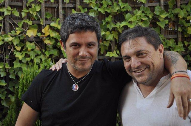 Alejjandro Sanz y Paco Ortega