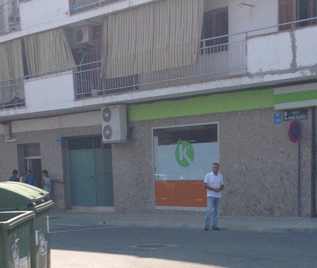 Calle De Mollerussa Donde Se Realizaron Las Obras Inacabadas