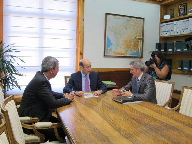 Alejandro Ibrahim,  Rafael Fernández de Alarcón y  Jesús Díez.