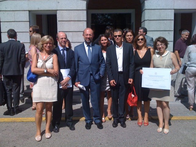 Premio 'Vicente Ferrer' al colegio Quinta Porrúa de Santander