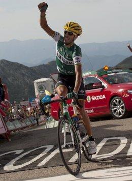 El ciclista español Antonio Piedra