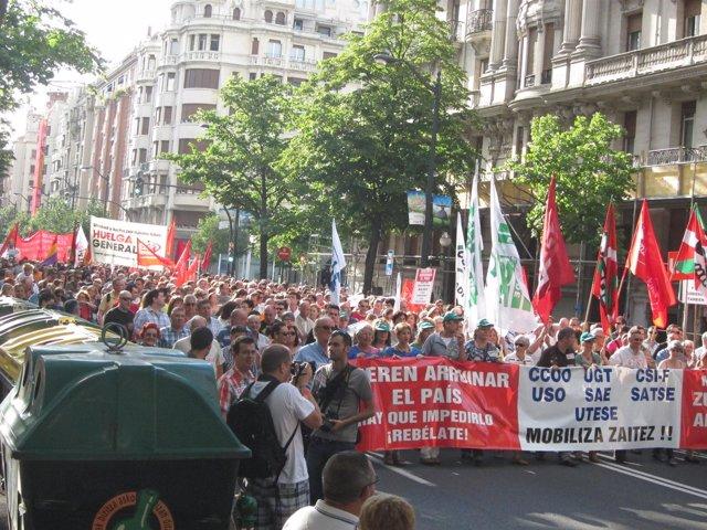 Movilización Contra Los Recortes