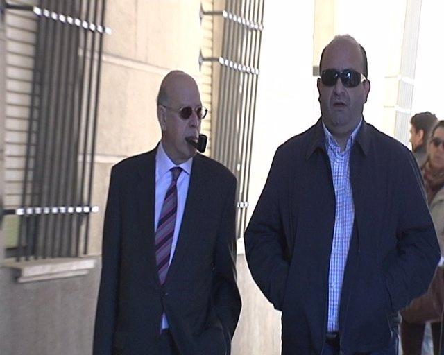 Juan Francisco Trujillo, A Su Llegada A Los Juzgados