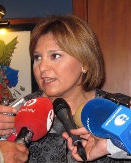 La Consellera De Infraestructuras, Territorio Y Medio Ambiente, Isabel Bonig