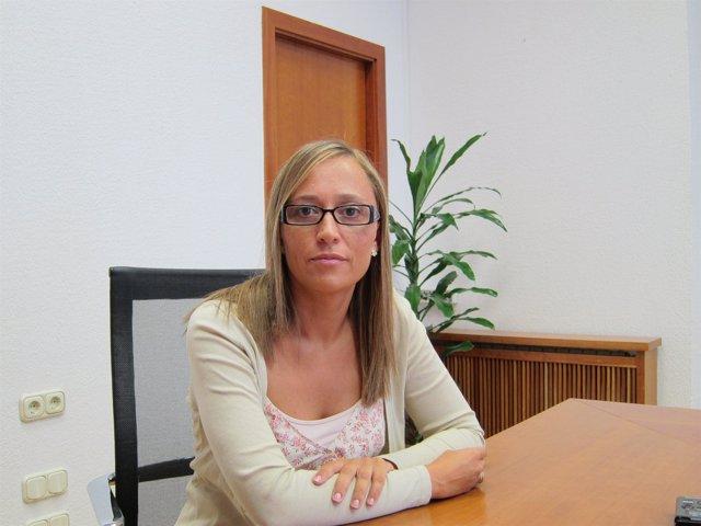 La conselleira de Facenda, Elena Muñoz, en las instalaciones de San Caetano