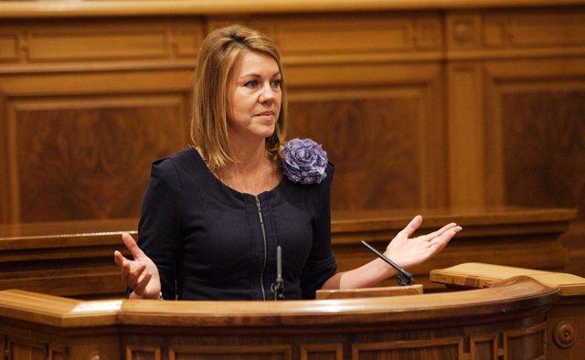 Cospedal en el Debate del Estado de la Región 2012