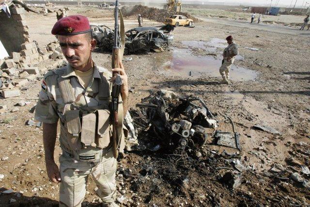 Más de 15 atentados en cadena en Irak