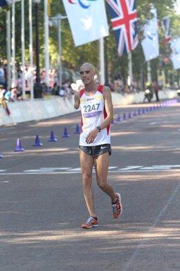 Abderrahman Ait Khamouch maratón categoría T12 Juegos Olímpicos