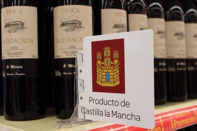 BOTELLAS DE VINO , PRODUCTOS DE CASTILLA LA MANCHA