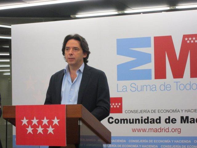 Percival Manglano, Consejero De Economía De La Comunidad
