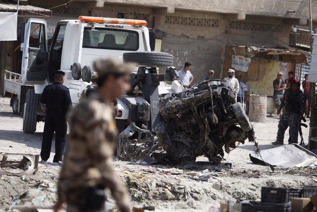 Más de medio centenar de muertos en Irak en una jornada negra de atentados