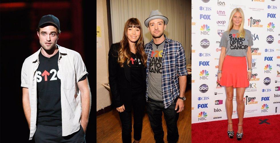 Montaje Robert Pattinson, Jessica Biel, Justin Timberlake y Gwyneth Paltrow