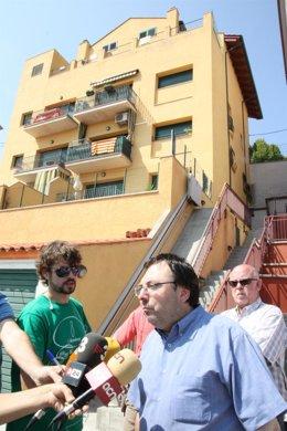 Alcalde De Sant Feliu De Codines Atiende A Los Medios