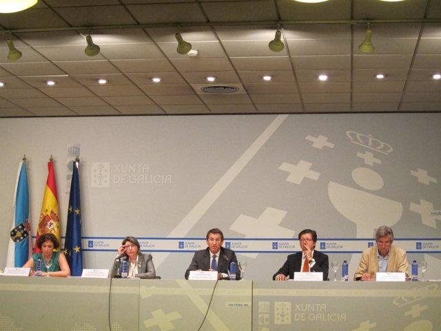 Núñez Feijóo preside el Consello Galego de Pesca