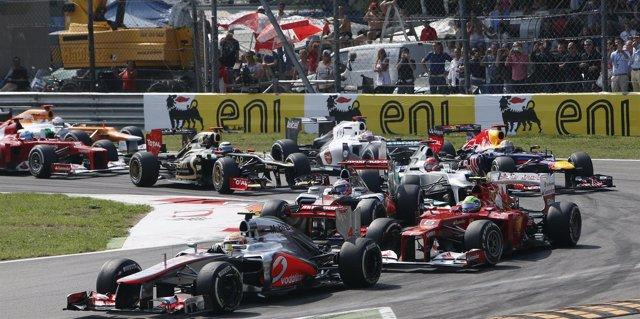 Hamilton GP Italia