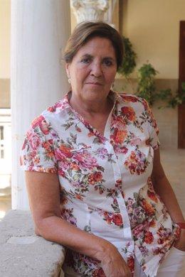 La directora de la Sede Antonio Machado de Baeza, Alcázar Cruz