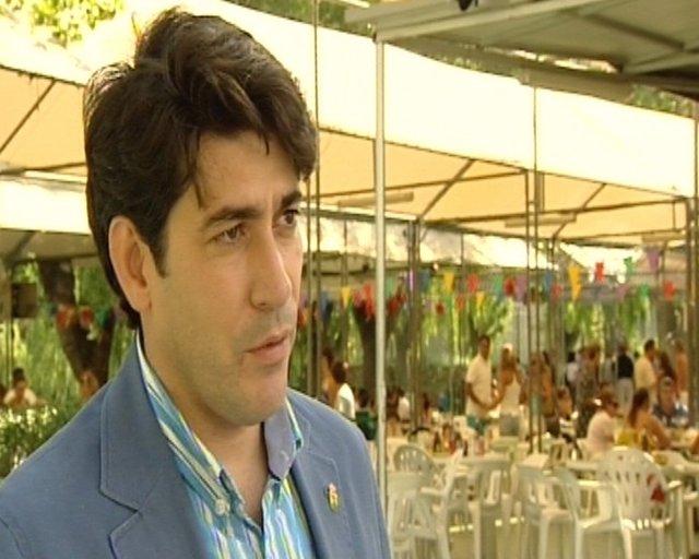 David Pérez, alcalde alcorcón