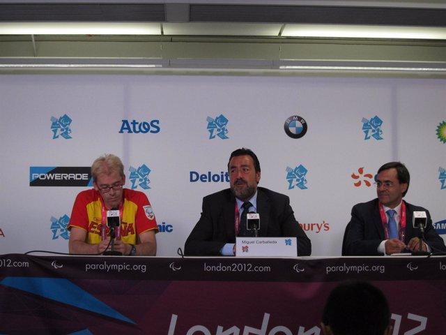 El director gerente del Comité Paralímpico Español (CPE), Alberto Jofre