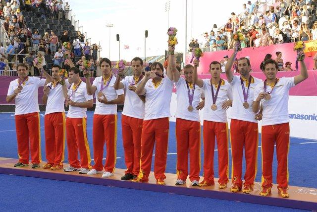 España baja su botín de medallas de hace cuatro años