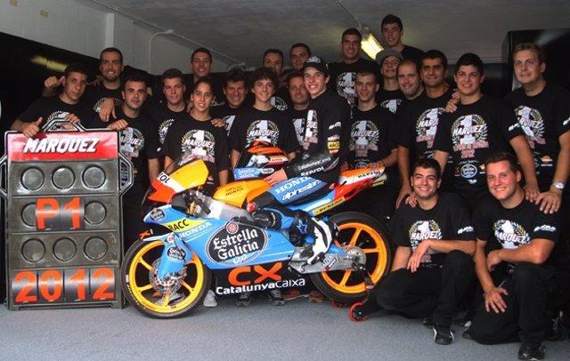 Álex Márquez, campeón de España de velocidad