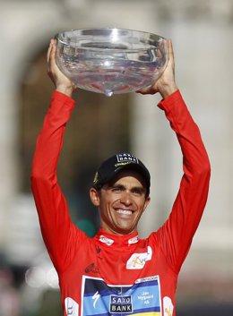 Alberto Contador, campeón de la Vuelta