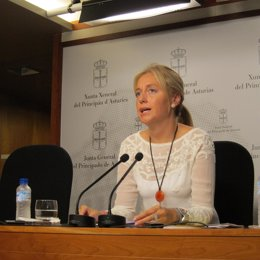 La portavoz de Foro en la Juanta General, Cristina Coto
