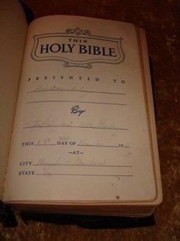 Biblia de Elvis Presley