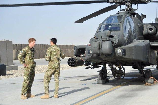 El príncipe Enrique en Afganistán