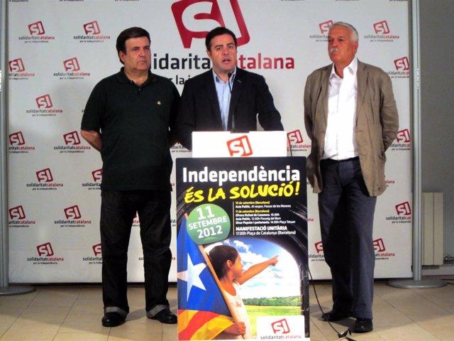 Alfons López Tena, Uriel Bertran Y Antoni Strubell, SI