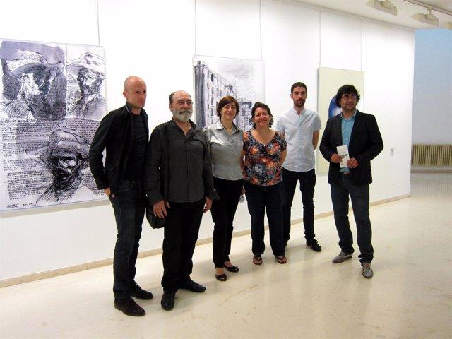 Montes, Ciarreta y Navaridas, en la muestra con otros artistas