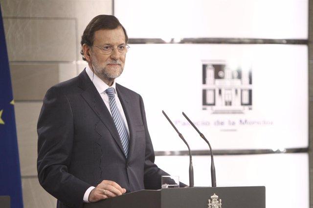 Rajoy en La Moncloa