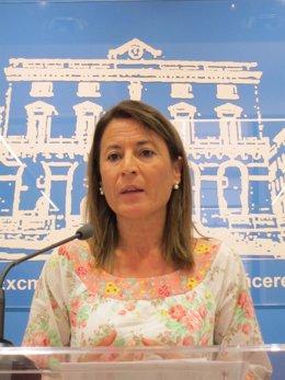 Elena Nevado, Alcaldesa De Cáceres.