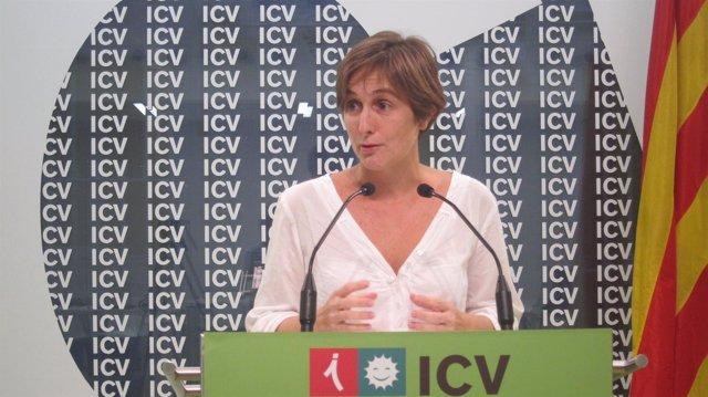 La Portavoz De ICV En El Parlament, Dolors Camats