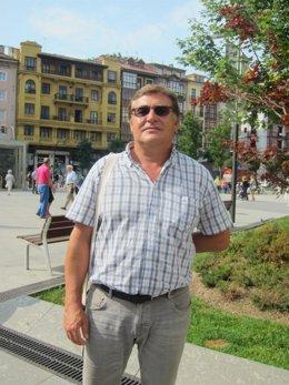 El portavoz de la Plataforma Cantabria por lo Público y Sin Recortes