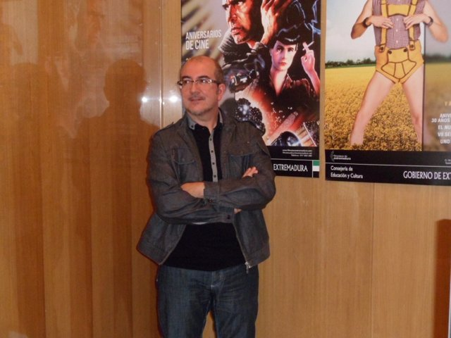 Antonio Aparicio, Director De La Filmoteca De Extremadura.