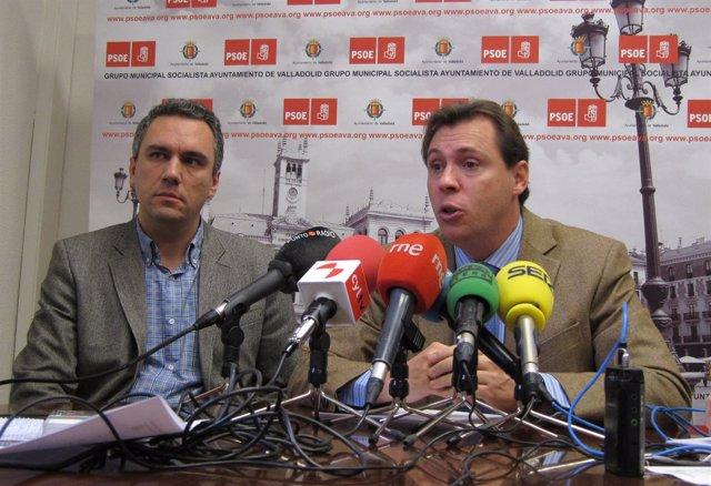 Javier Izquierdo y Óscar Puente