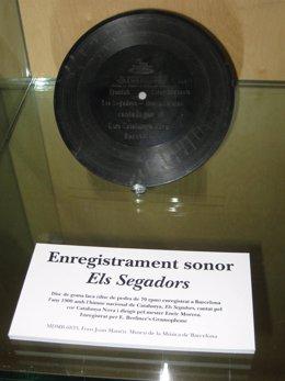 Disco Original De 'Els Segadors'