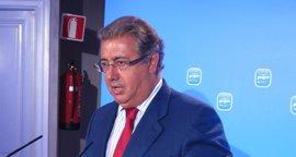 """Zoido dice que la respuesta del Gobierno a Monago sobre el IVA cultural demuestra """"el mismo trato"""" para todas las ccaa"""