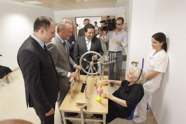 El Presidente De La Generalitat , Alberto Fabra, En Onda (Castellón)