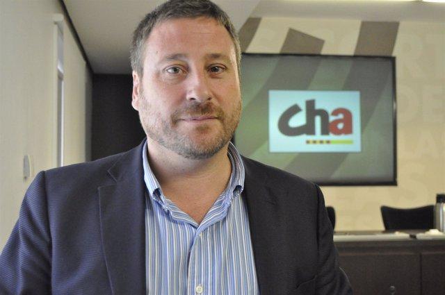 El presidente de Chunta Aragonesista, José Luis Soro.