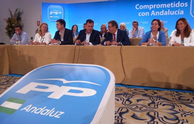 Reunión de la Ejecutiva Regional del PP-A