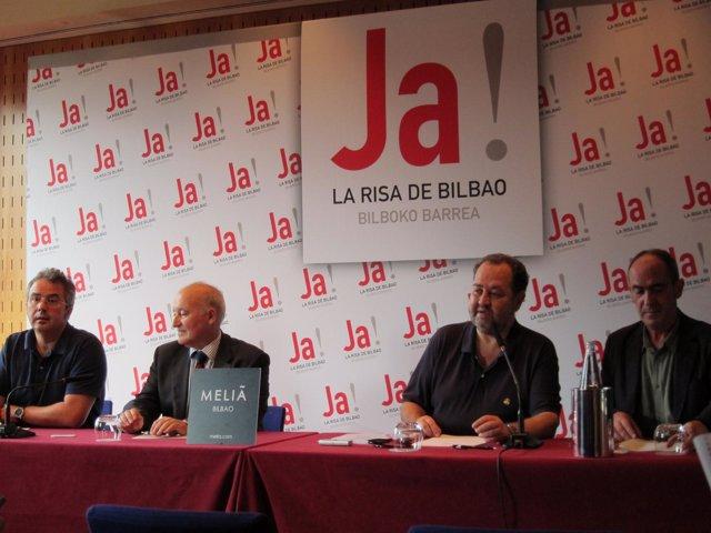 Presentación Del Festival La Risa De Bilbao