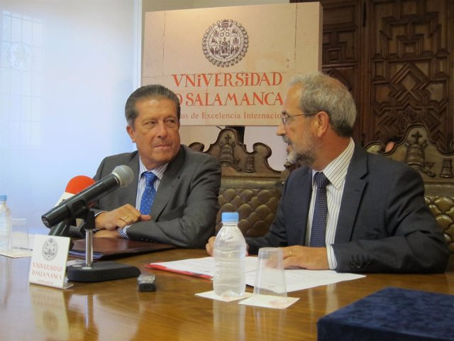 Mayor Zaragoza y Hernández en la USAL