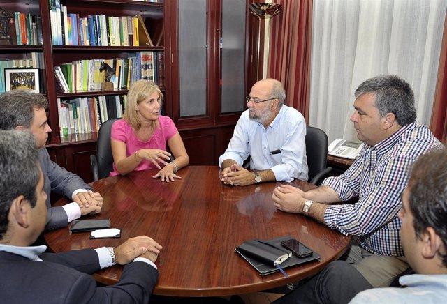 Reunión En El Ayuntamiento De Jerez Sobre El Mundial De Motos 2013