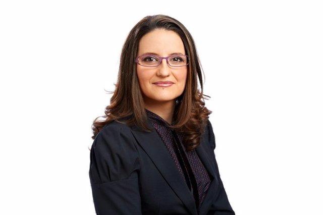Mónica Oltra en imagend e archivo
