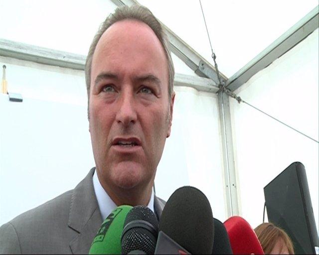 El Presidente De La Generalitat Valenciana, Alberto Fabra