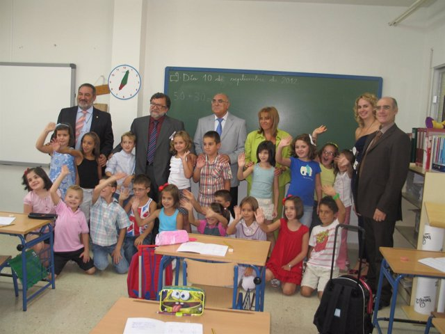 Cifuentes, Amador Y Gálvez (C) En El Acto Inaugural Del Curso Escolar 2012-13.