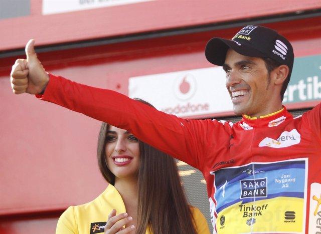 Alberto Contador líder Vuelta a España